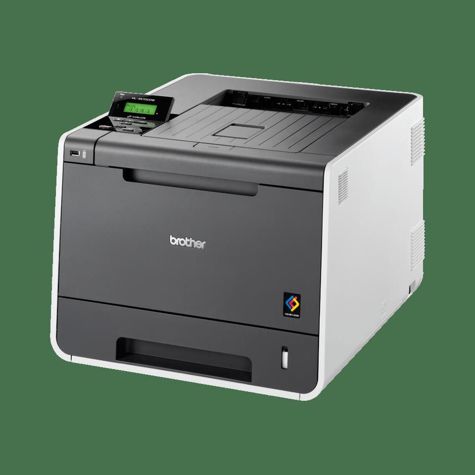 HL-4570CDW High Speed Colour Laser Printer + Network  2