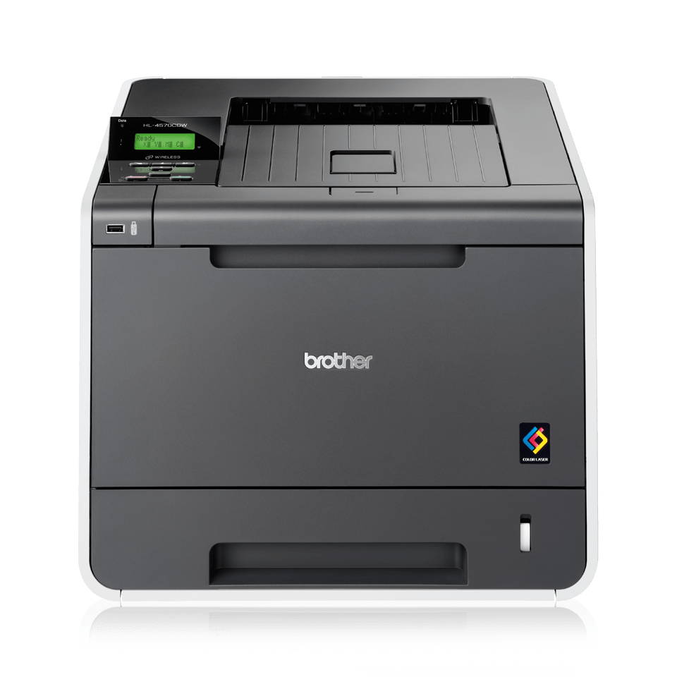 HL-4570CDW High Speed Colour Laser Printer + Network