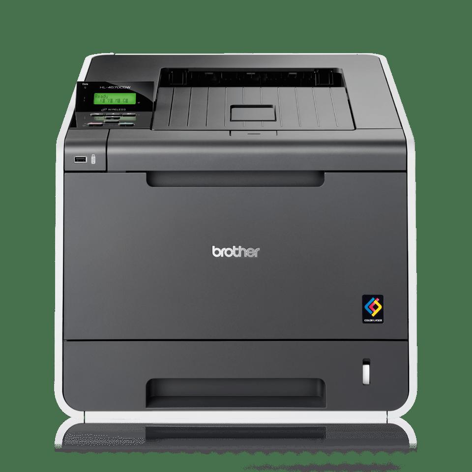 HL-4570CDW High Speed Colour Laser Printer + Network