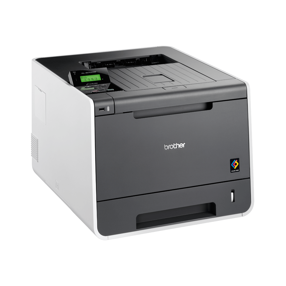 HL-4570CDW High Speed Colour Laser Printer + Network  3