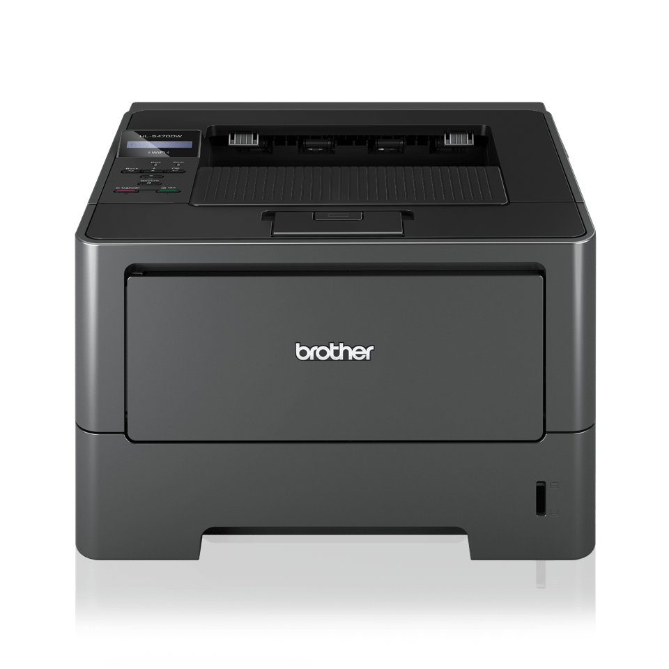 HL-5470DW High Speed Mono Laser Printer + Duplex, Network, Wireless 2
