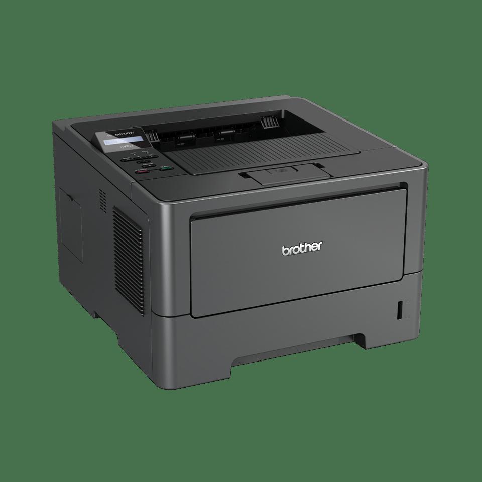HL-5470DW High Speed Mono Laser Printer + Duplex, Network, Wireless 3