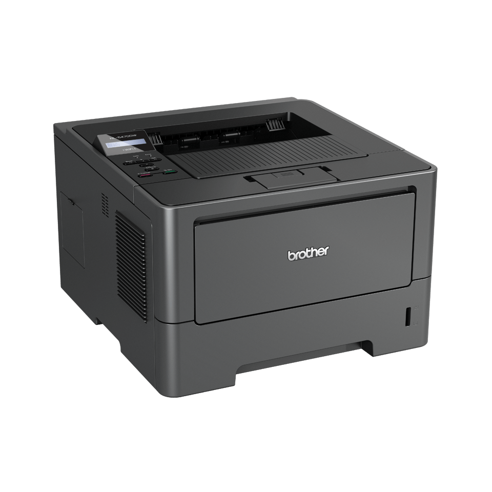 HL-5470DW High Speed Mono Laser Printer + Duplex, Network, Wireless 3