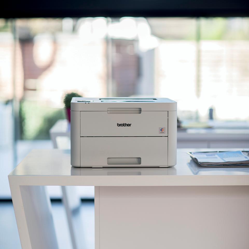 HL-L3210CW Colour Wireless LED printer 7