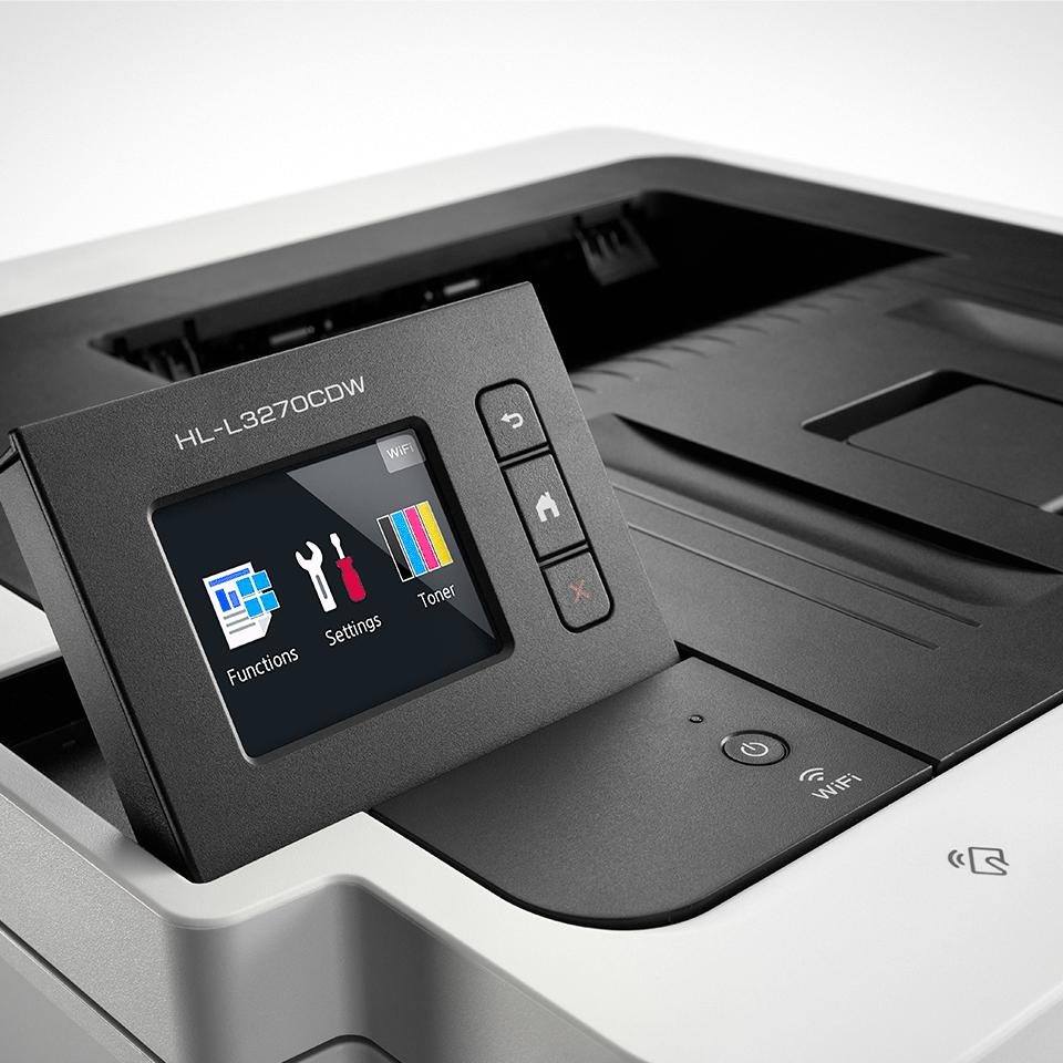 HL-L3270CDW Colour Wireless LED printer 5