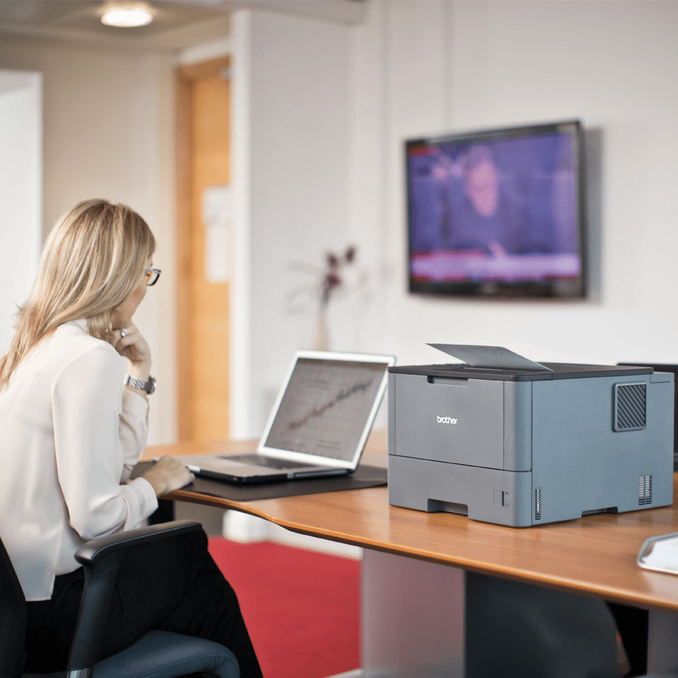 HL-L5000D Workgroup Mono Laser Printer 4