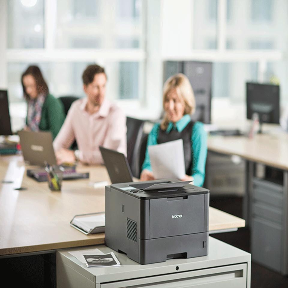 HL-L5050DN Professional mono laser printer 5