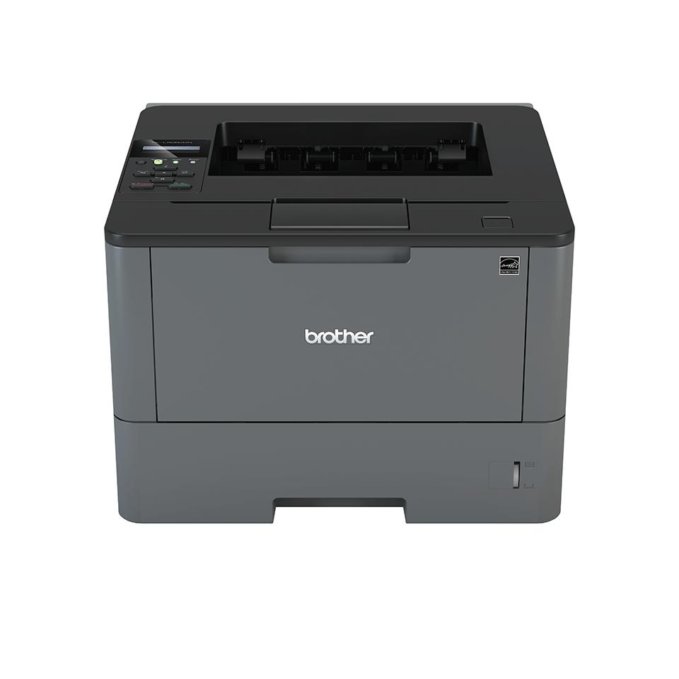 Brother HL-L5050DN professional mono laser duplex printer facing forward