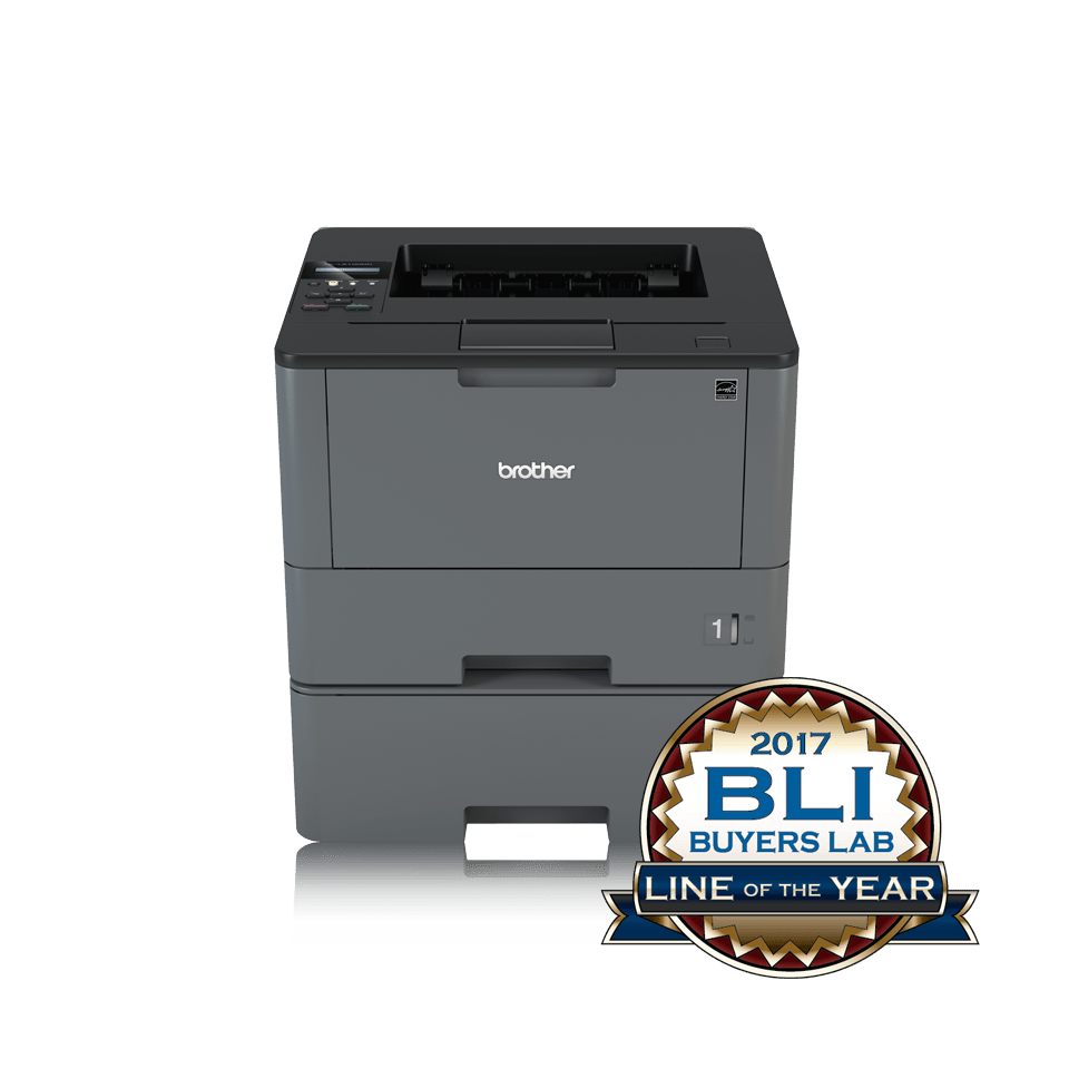 HL-L5100DNT Workgroup Mono Laser Printer + Network 1