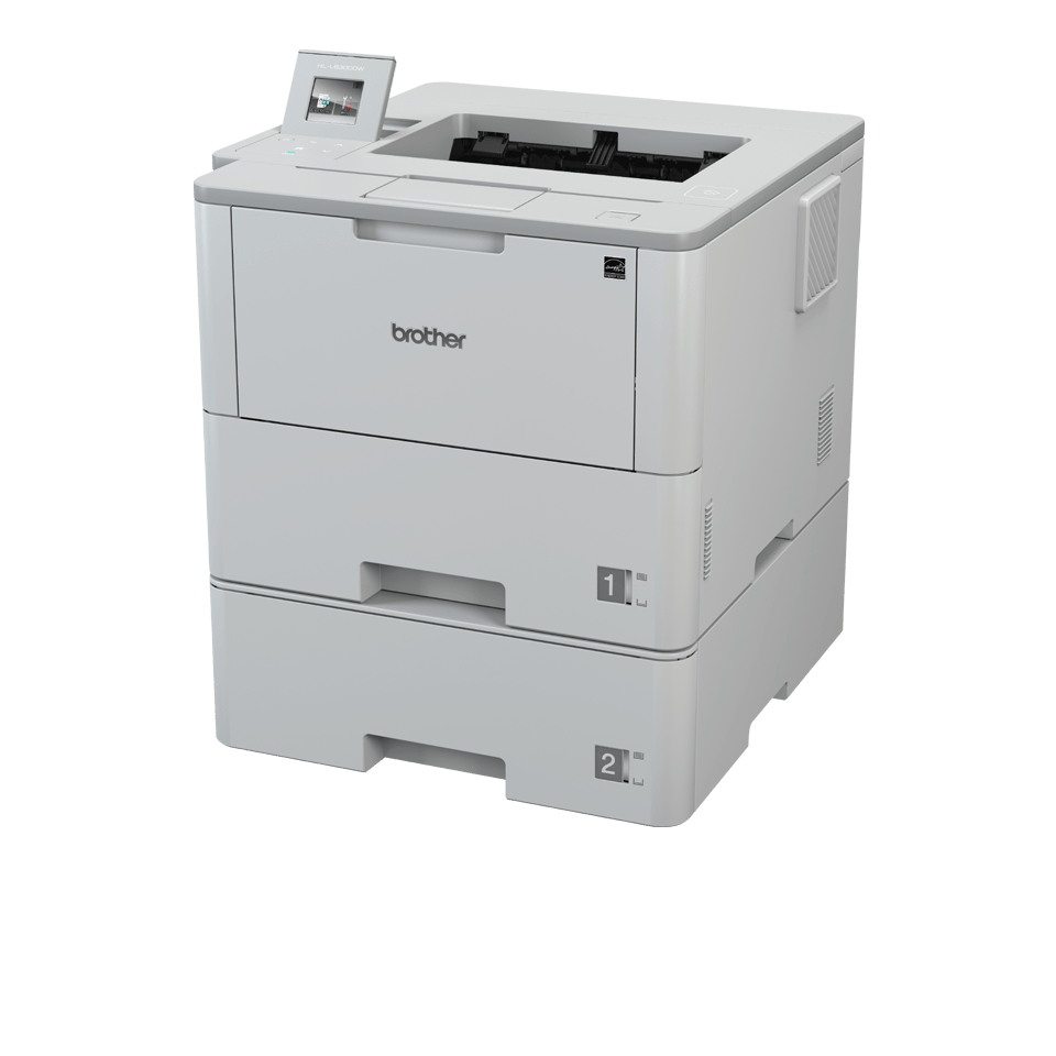 HL-L6300DWT Mono Laser Workgroup Printer 2