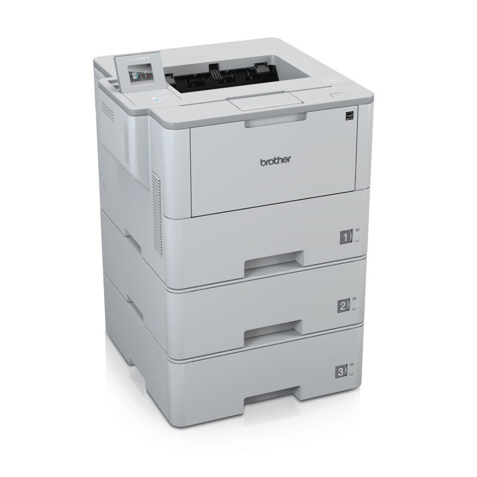 HL-L6400DWT Mono Laser Printer + WiFi 2