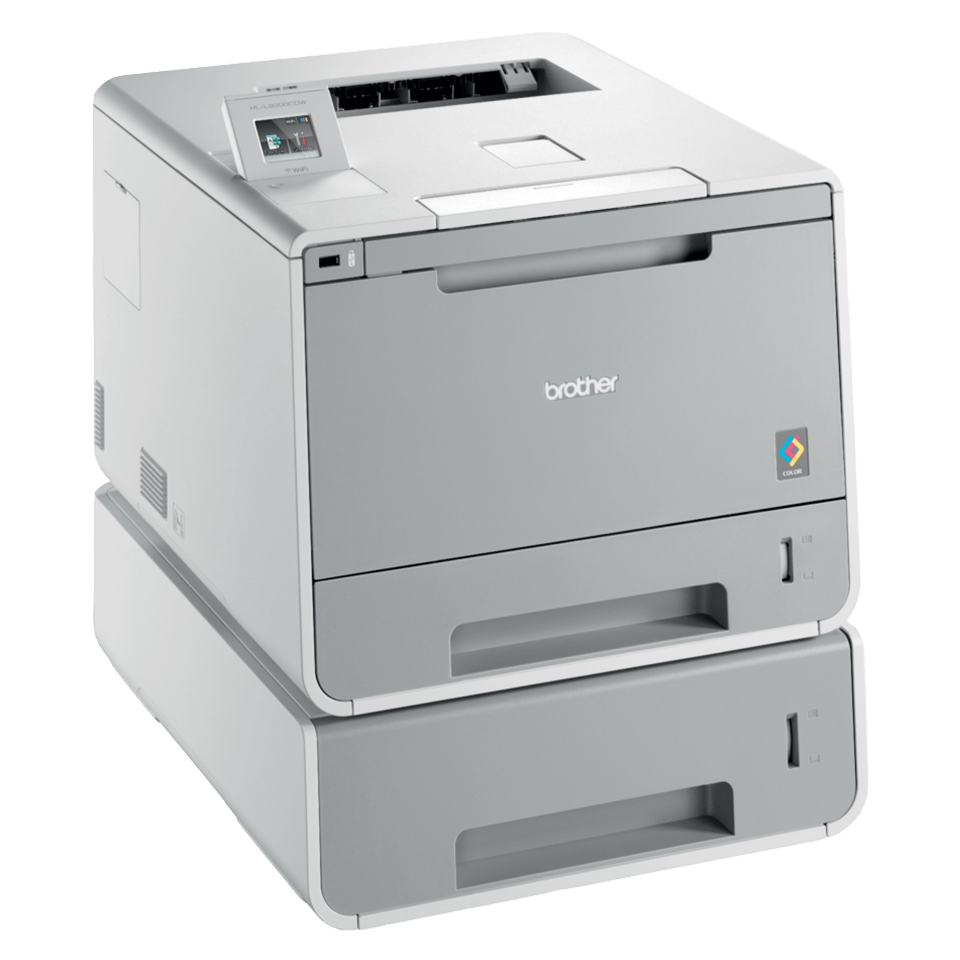 HL-L9200CDWT Colour Laser Printer + Duplex, Tray, Wireless 3