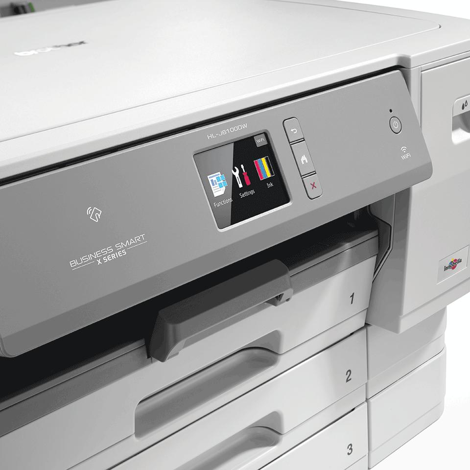 HL-J6100DW Colour Wireless A3 Inkjet Printer 6