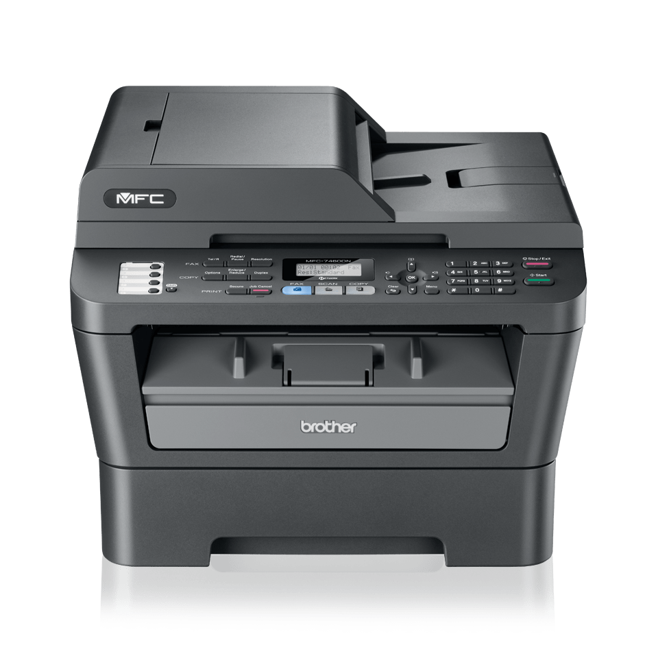 MFC-7460DN Mono Laser All-in-One + Duplex, Fax, Network 1