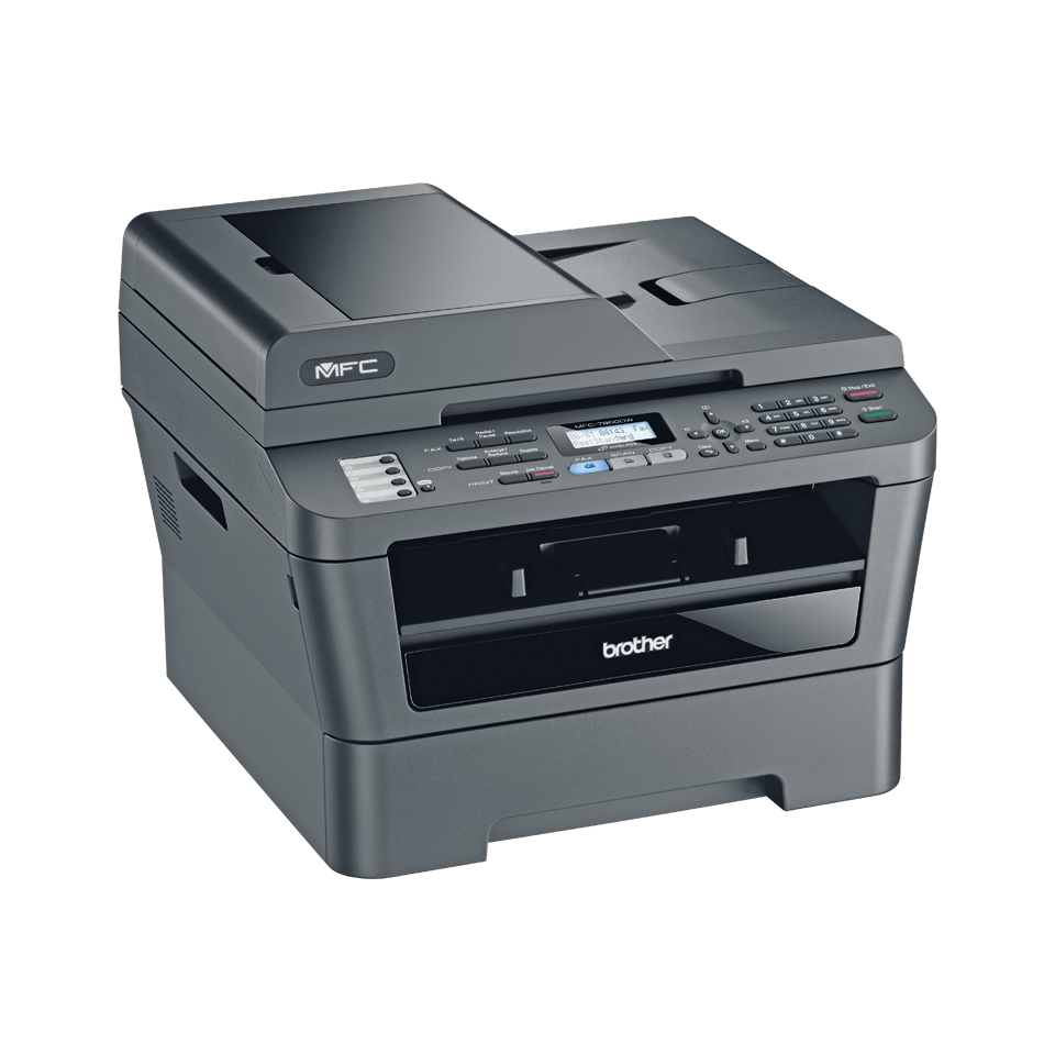 MFC-7860DW Mono Laser All-in-One + Duplex, Fax, Network, Wireless 2