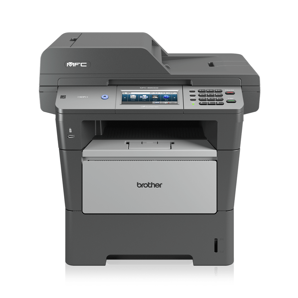 MFC-8950DW High-Speed Mono All-in-One + Duplex, Fax, Network 1
