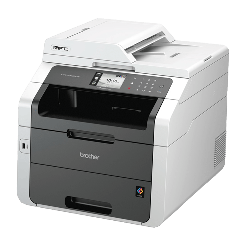 MFC-9340CDW Colour Laser All-in-One + Duplex, Fax, Network, Wi-Fi 0