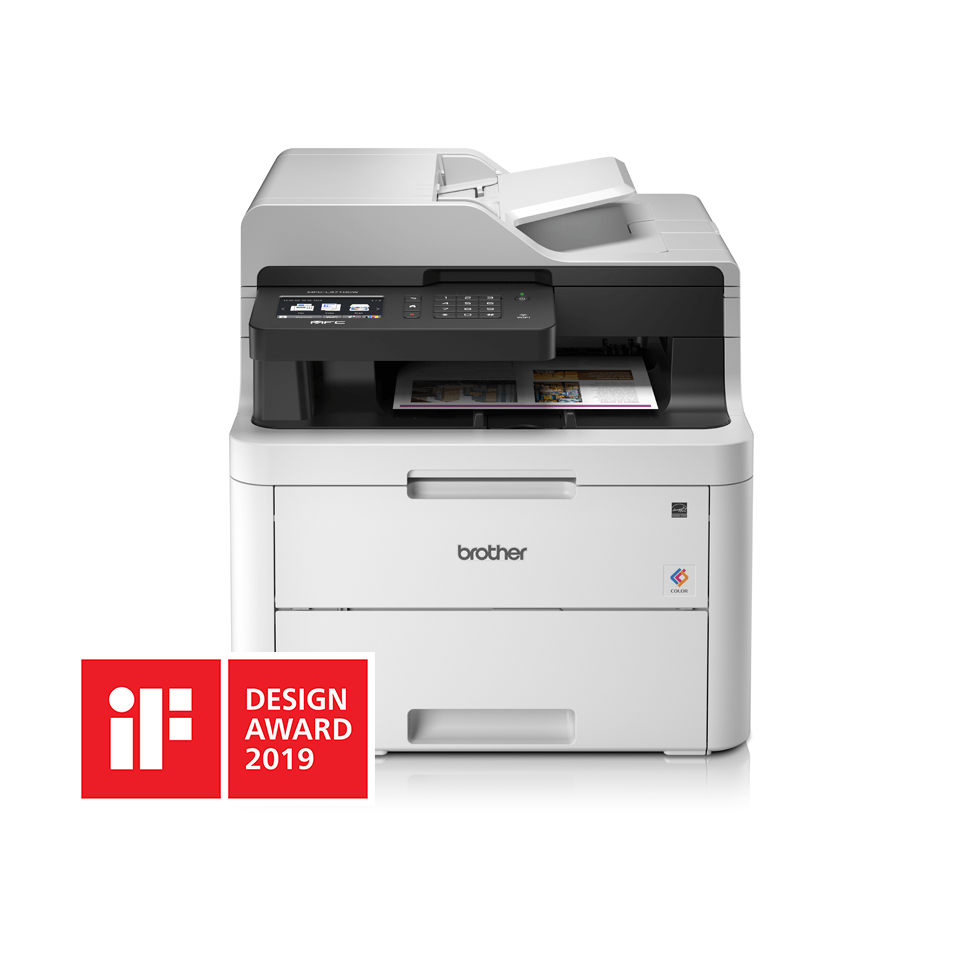 MFC-L3710CW 4-in-1 wireless colour LED laser printer