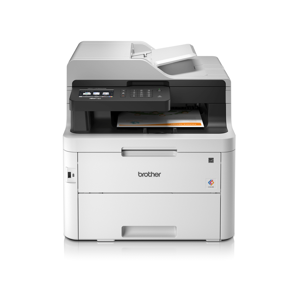 MFC-L3750CDW 4-in-1 wired and wireless colour LED laser printer