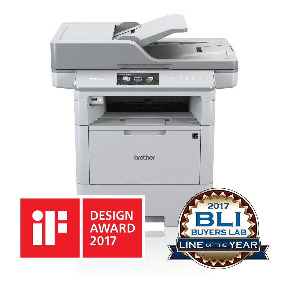 MFC-L6900DW Wireless Mono Laser Printer 3
