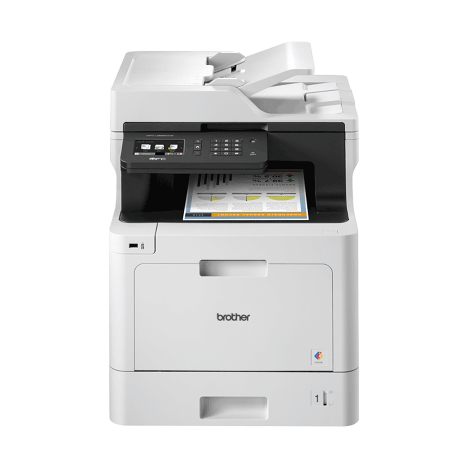 MFC-L8690CDW Wireless Colour Laser Printer 4