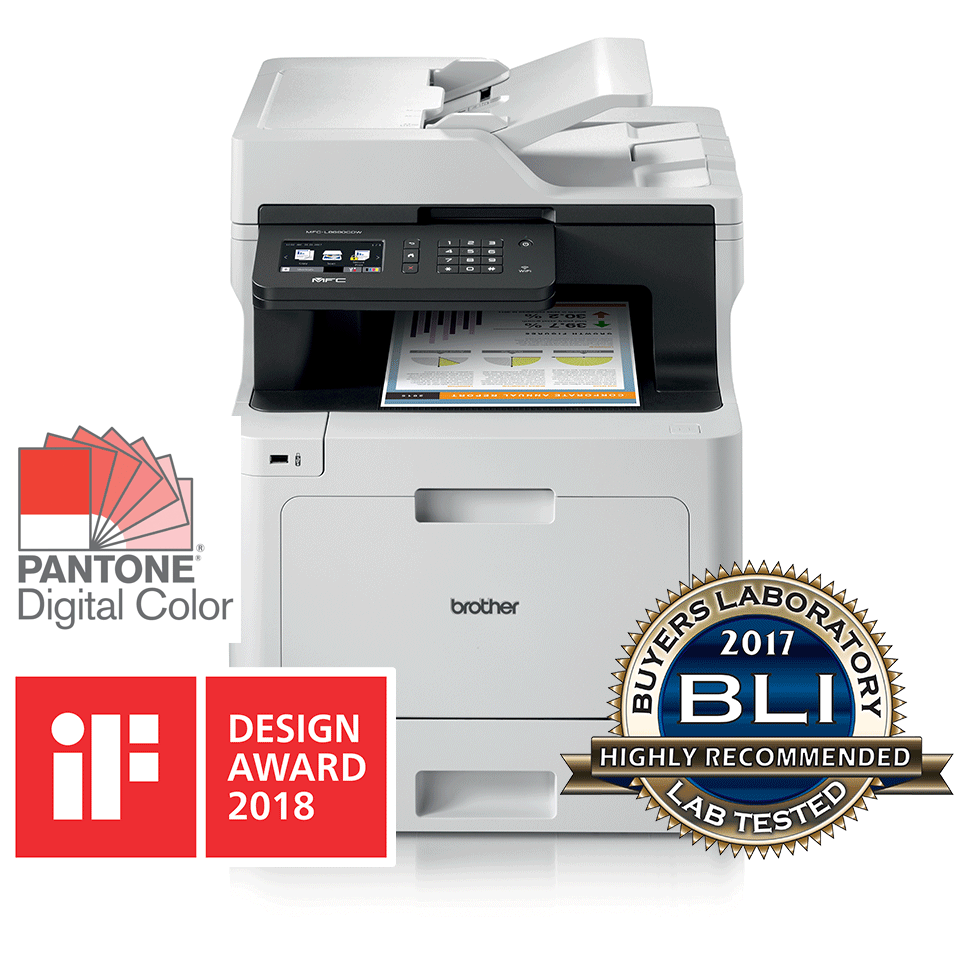 MFC-L8690CDW Wireless Colour Laser Printer 3
