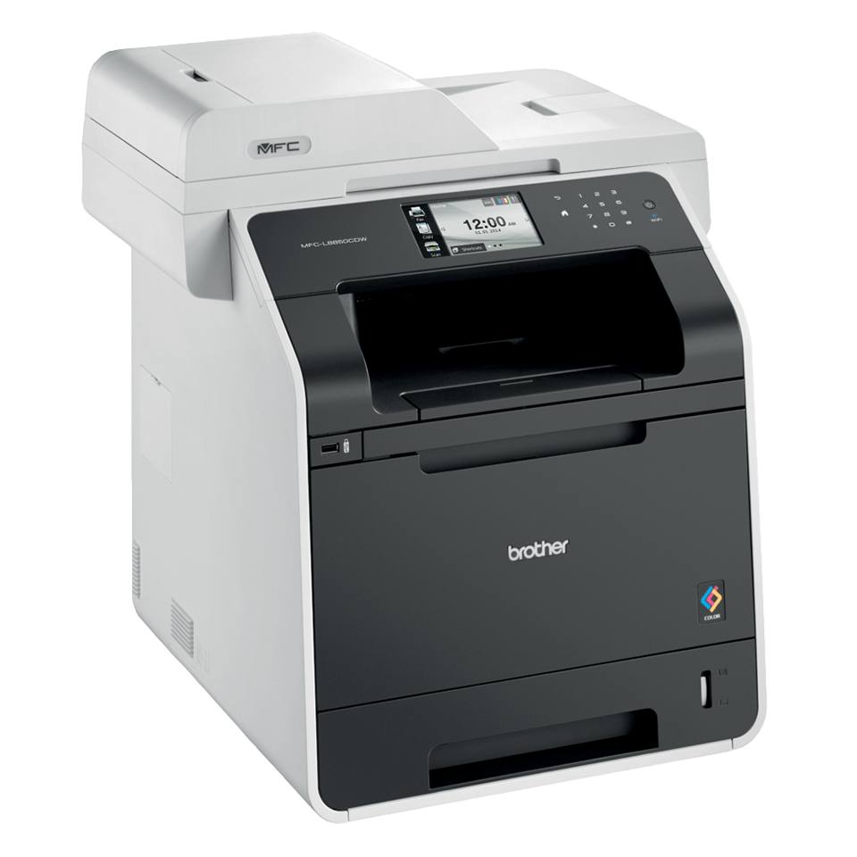 MFC-L8850CDW Colour Laser All-in-One + Duplex, Fax, Wireless 2