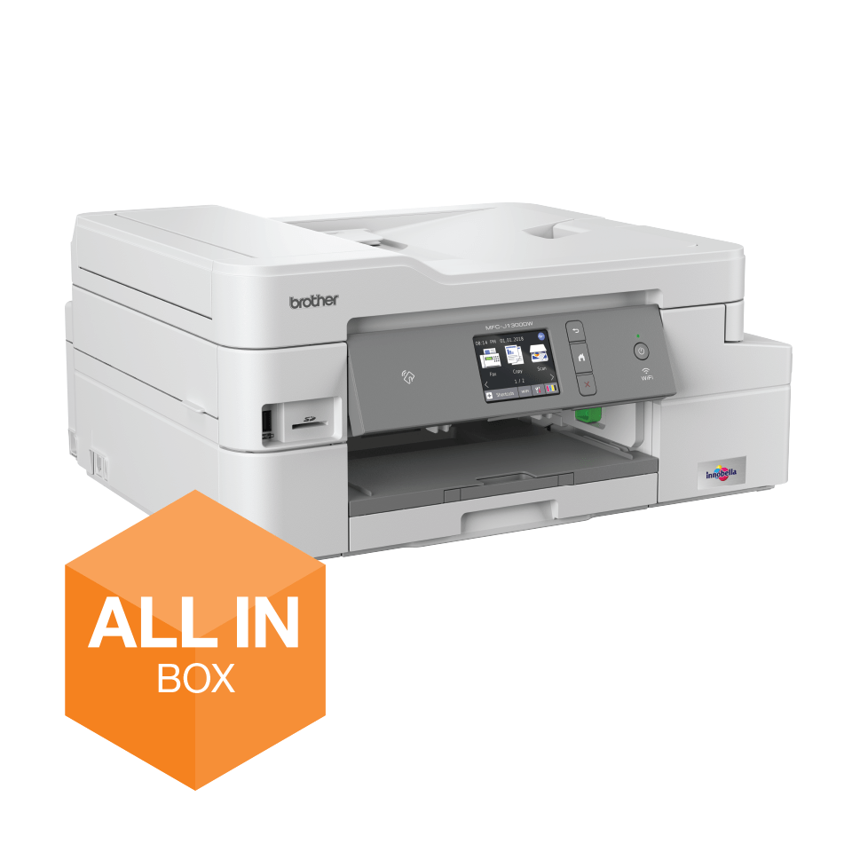 MFC-J1300DW All in Box wireless 4-in-1 inkjet printer  2