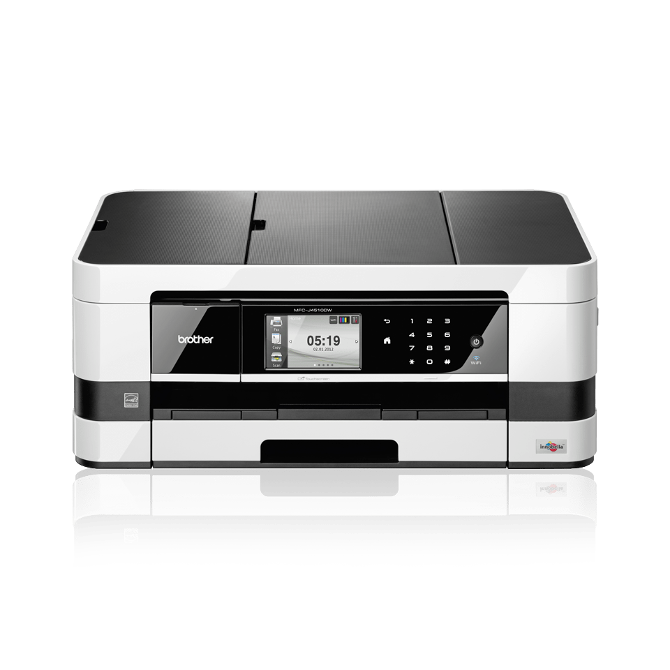 MFC-J4510DW All-in-One Inkjet Printer + Duplex, Fax and Wireless 2