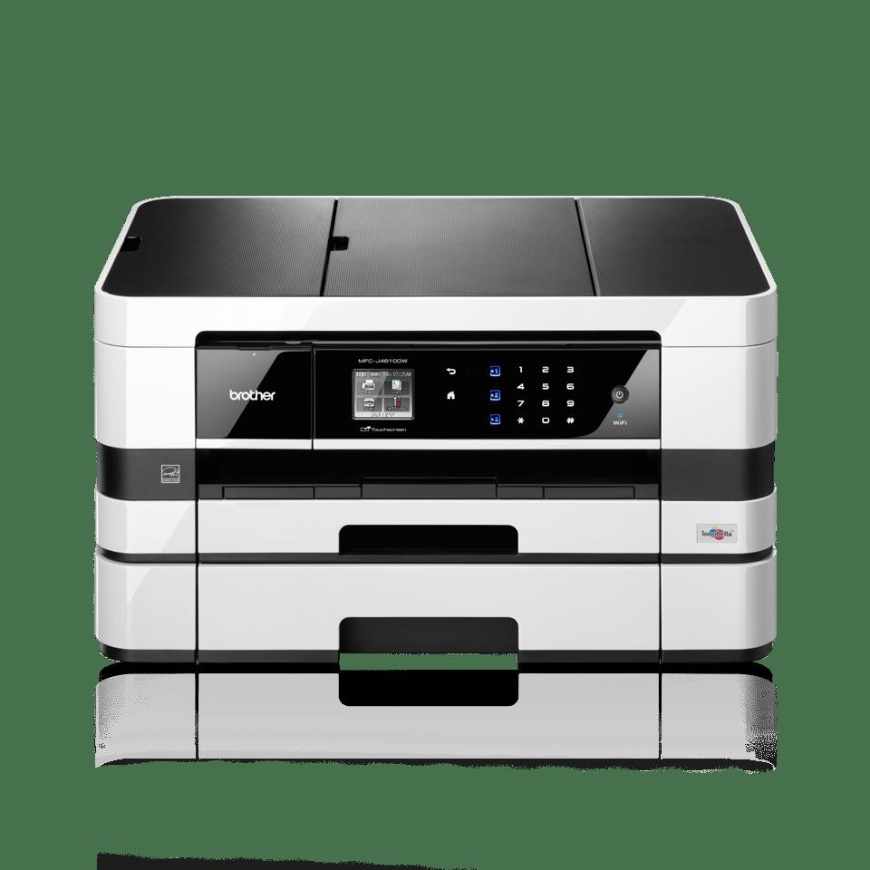 MFC-J4610DW All-in-One Inkjet Printer + Duplex, Fax, Paper Tray, Wireless 2