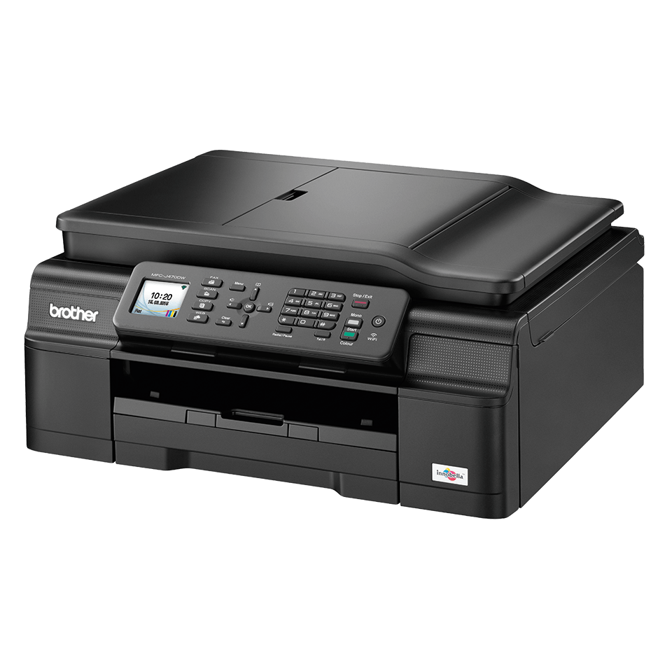 MFC-J470DW All-in-One Inkjet Printer + Duplex, Fax and Wireless