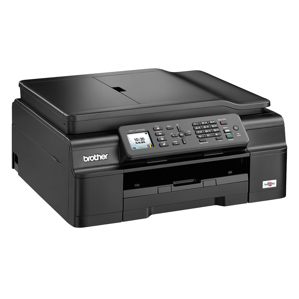 MFC-J470DW All-in-One Inkjet Printer + Duplex, Fax and Wireless 2