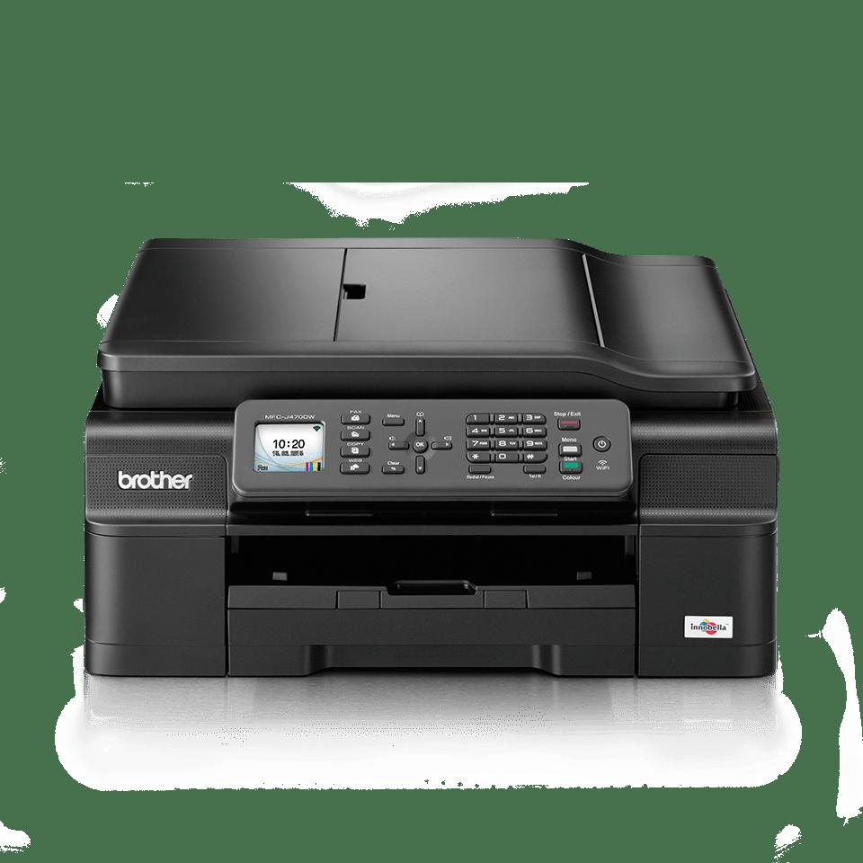MFC-J470DW All-in-One Inkjet Printer + Duplex, Fax and Wireless 3
