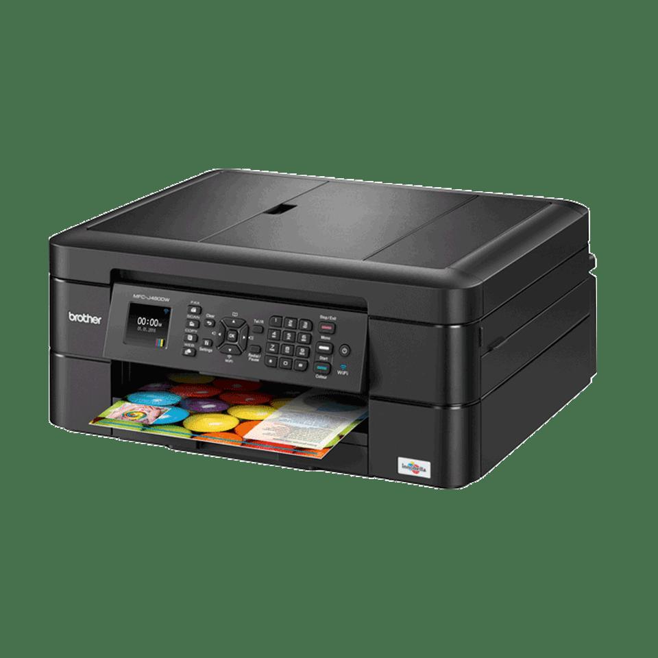 MFC-J480DW Compact Wireless Inkjet Printer