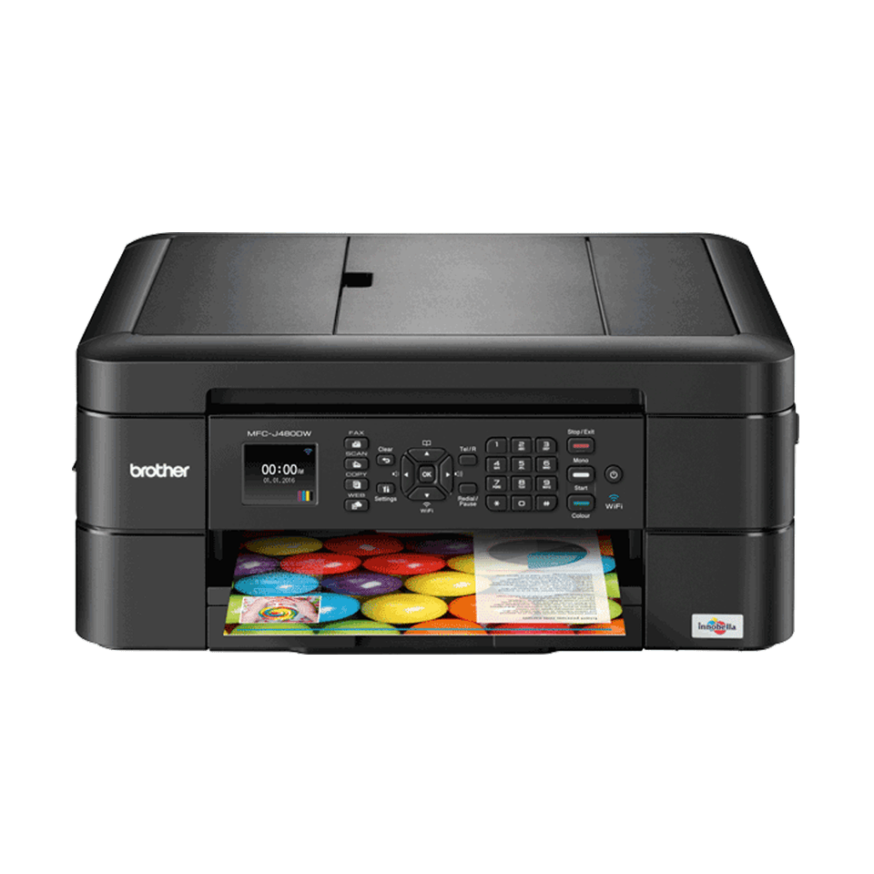 MFC-J480DW Compact Wireless Inkjet Printer