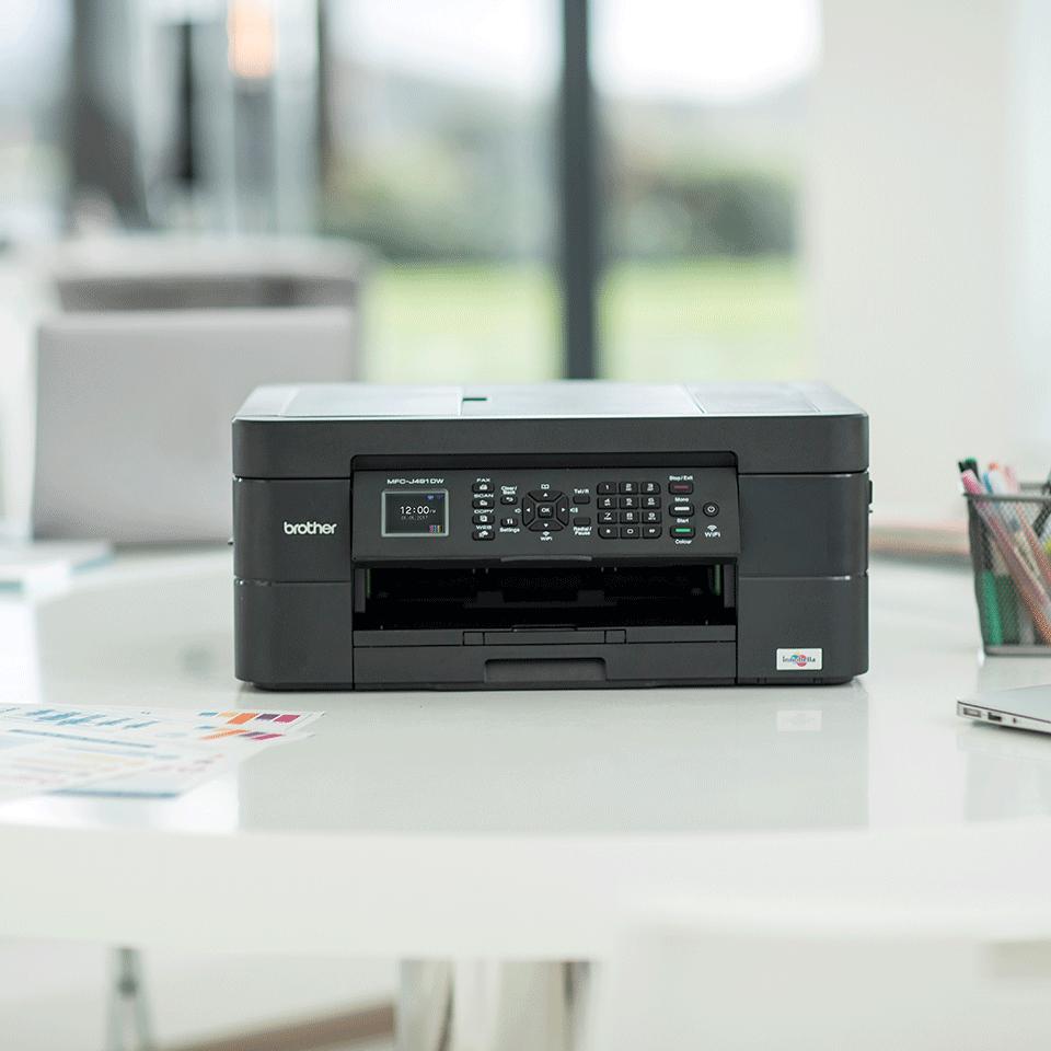 Wireless 4-in-1 Inkjet Printer MFC-J491DW