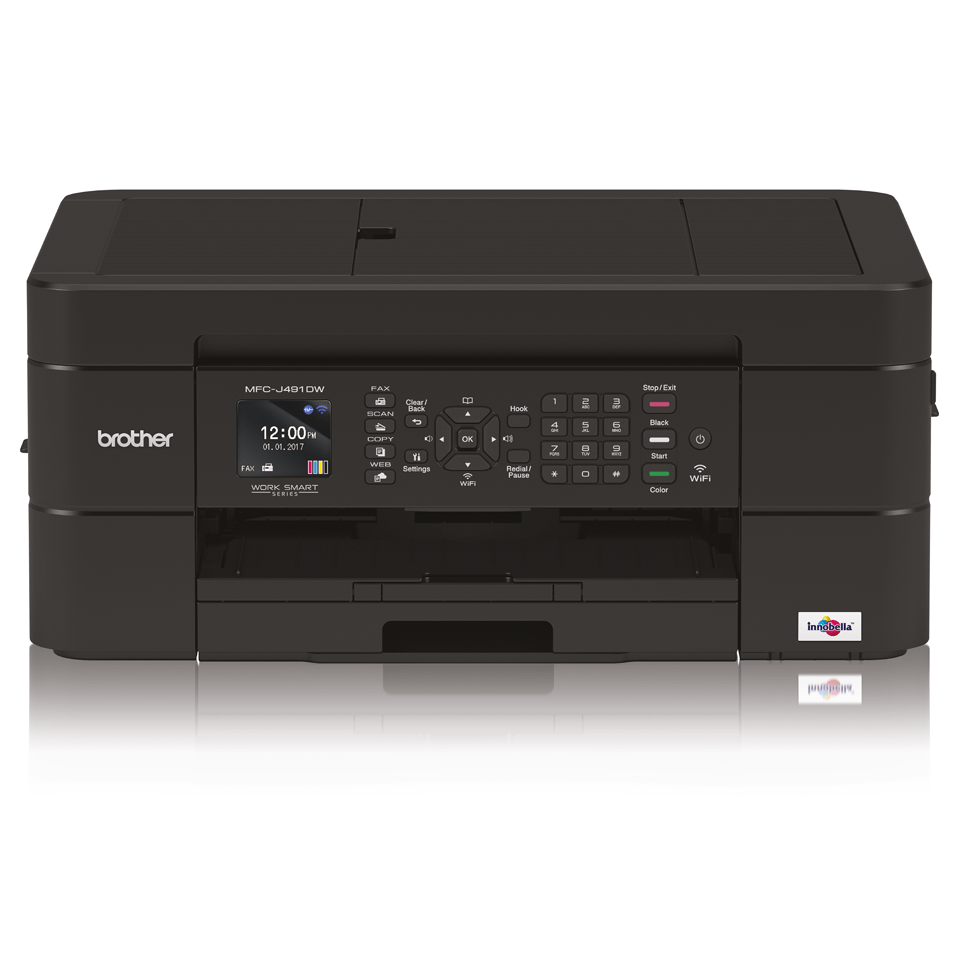 Wireless 4-in-1 Inkjet Printer MFC-J491DW