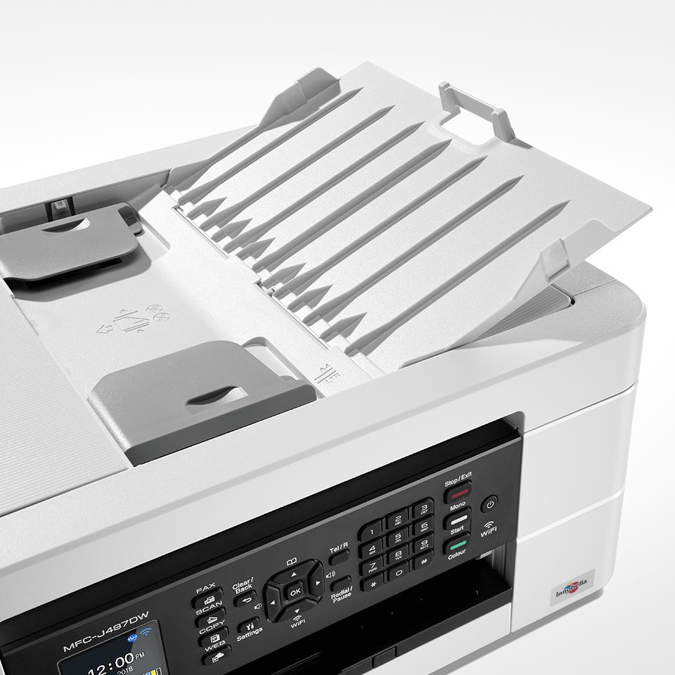 Wireless 4-in-1 Inkjet Printer MFC-J497DW 3
