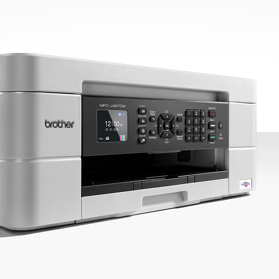 Wireless 4-in-1 Inkjet Printer MFC-J497DW 4