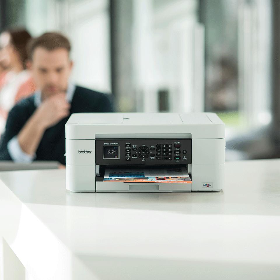 Wireless 4-in-1 Inkjet Printer MFC-J497DW