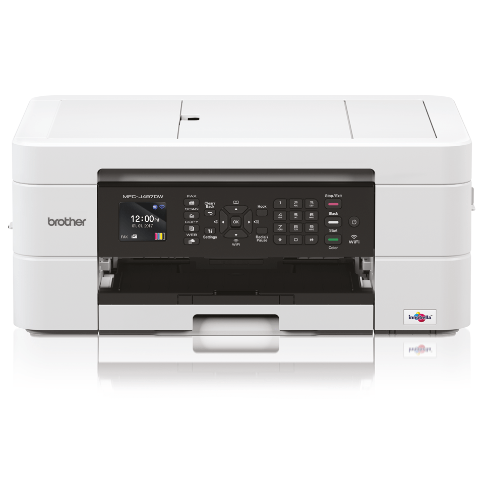 Wireless 4-in-1 Inkjet Printer MFC-J497DW