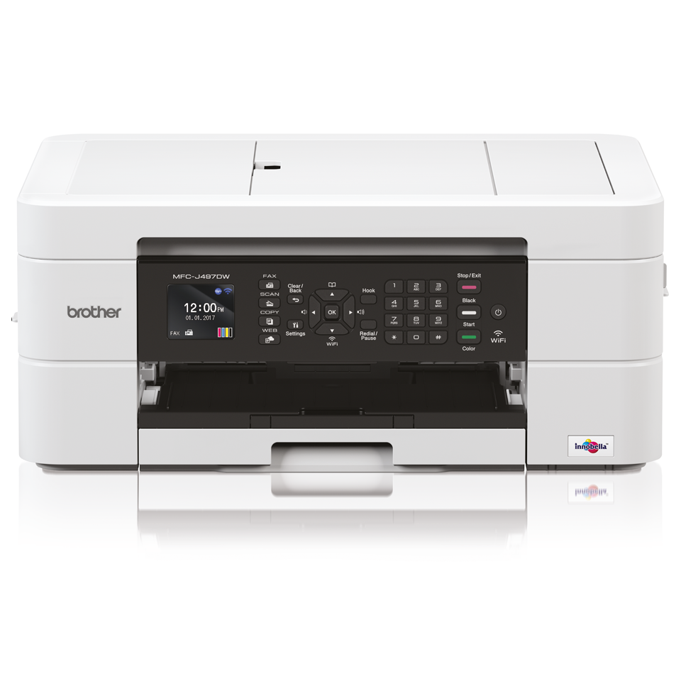 MFC-J497DW Wireless 4-in-1 Inkjet Printer