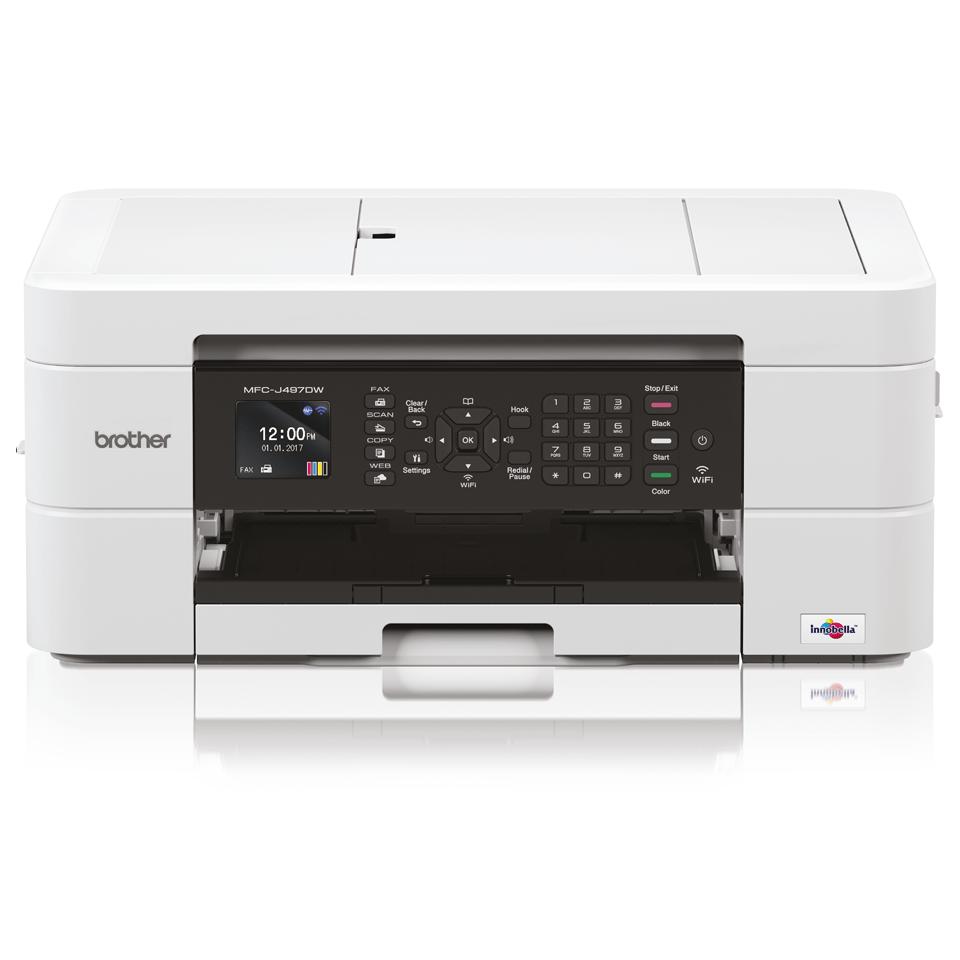 Wireless 4-in-1 Inkjet Printer MFC-J497DW 7
