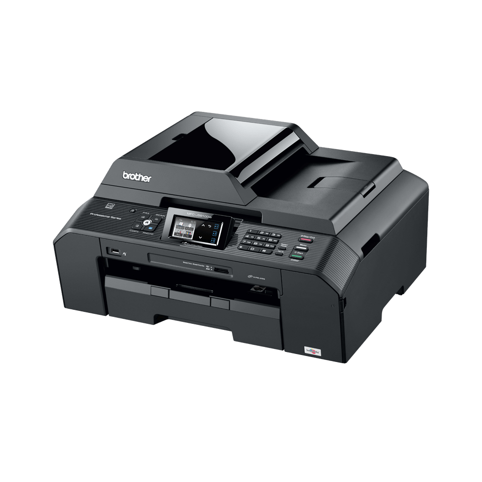 MFC-J5910DW All-in-One A3 Inkjet Printer + Duplex, Fax, Wireless