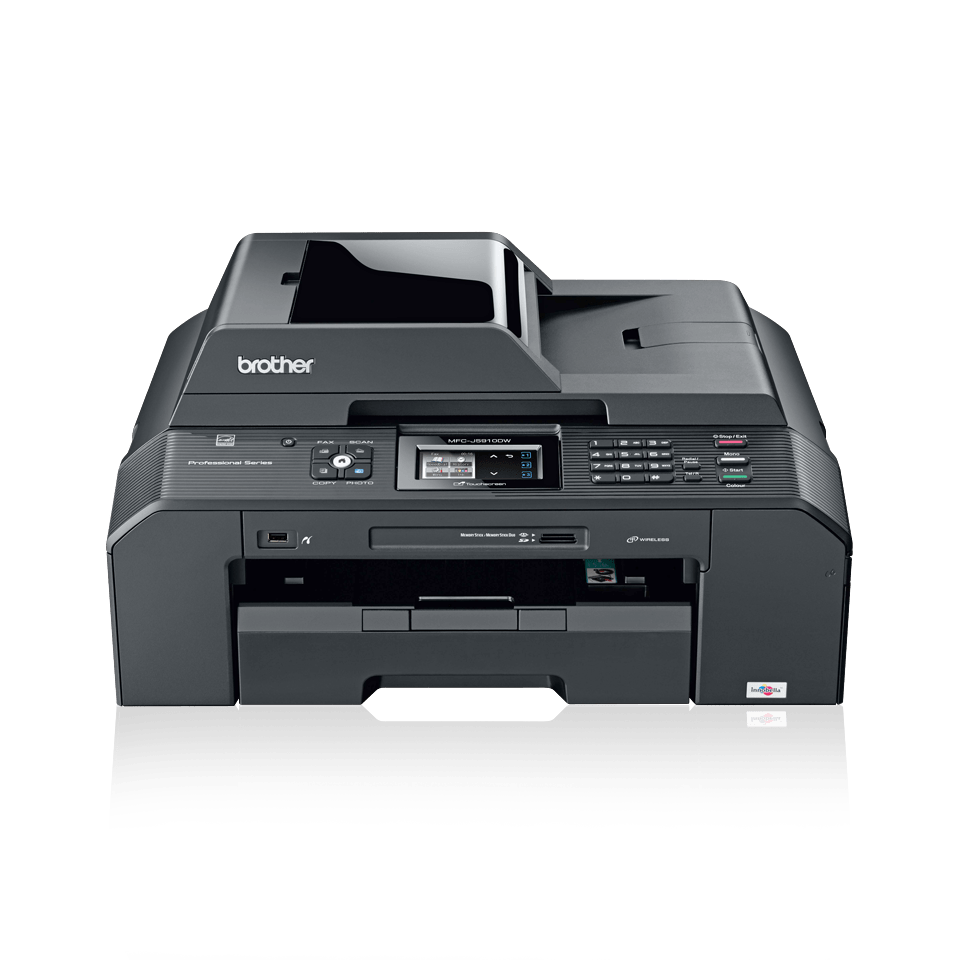 MFC-J5910DW All-in-One A3 Inkjet Printer + Duplex, Fax, Wireless 2