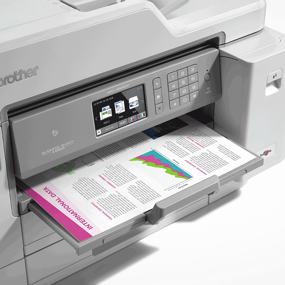 MFC-J5945DW Colour Wireless A3 Inkjet 4-in-1 Printer 8