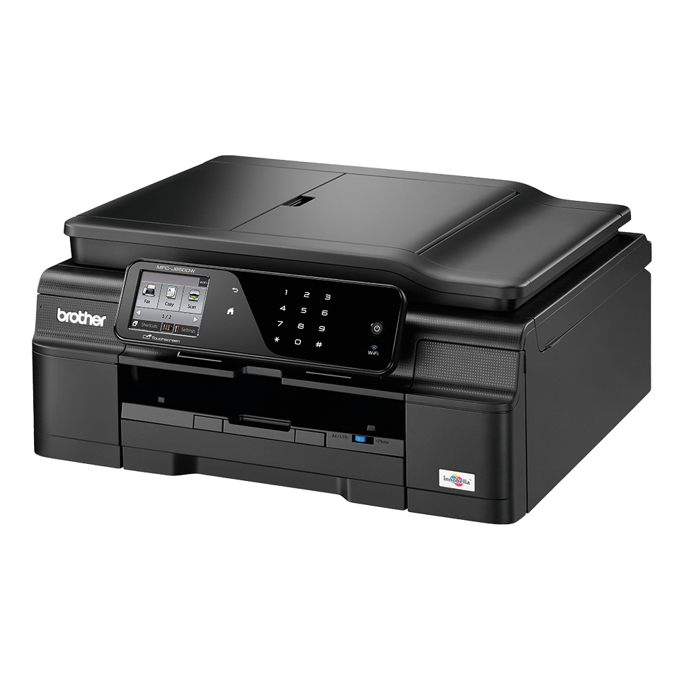 MFC-J650DW All-in-One Inkjet Printer + Duplex, Fax and Wireless 2