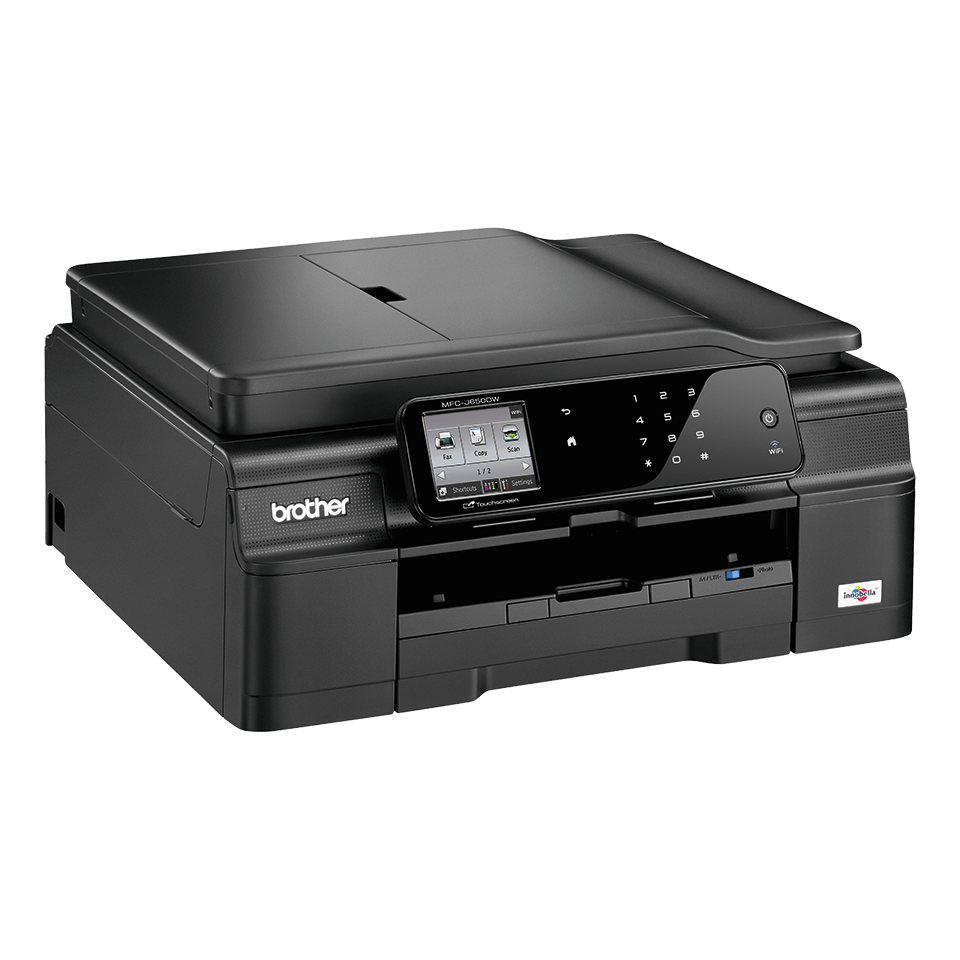 MFC-J650DW All-in-One Inkjet Printer + Duplex, Fax and Wireless 3