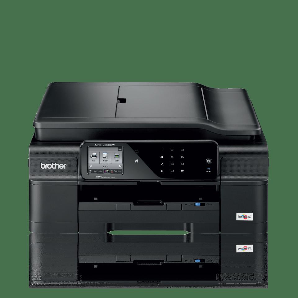 MFC-J650DW All-in-One Inkjet Printer + Duplex, Fax and Wireless