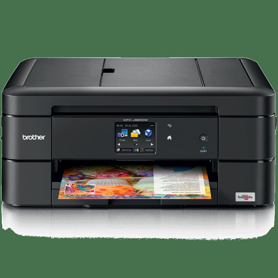 MFC-J680DW Compact A4 Inkjet Printer 2
